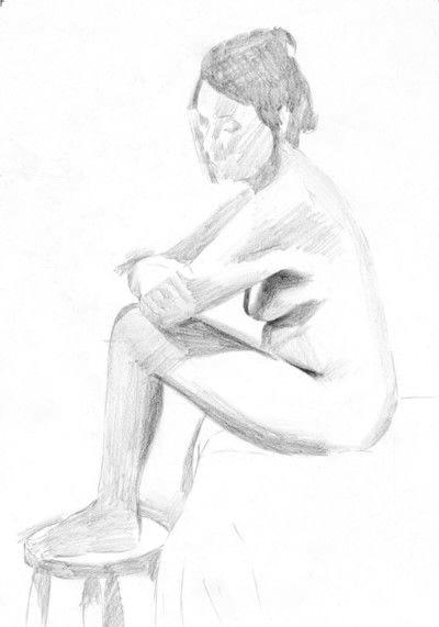 How to create a portrait. A Tonal Study - Step 1