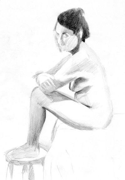 How to create a portrait. A Tonal Study - Step 2