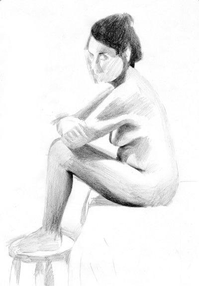 How to create a portrait. A Tonal Study - Step 3