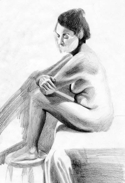 How to create a portrait. A Tonal Study - Step 4