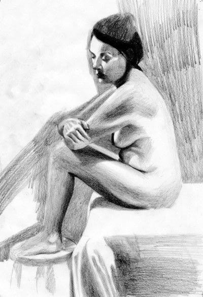 How to create a portrait. A Tonal Study - Step 5