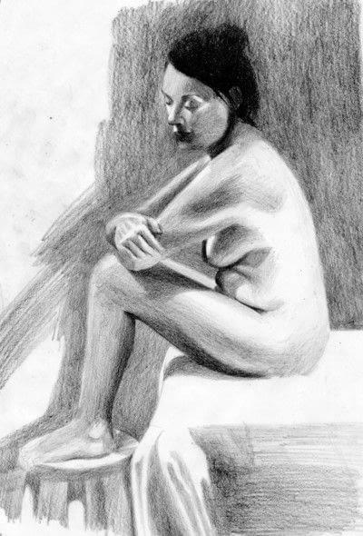 How to create a portrait. A Tonal Study - Step 6