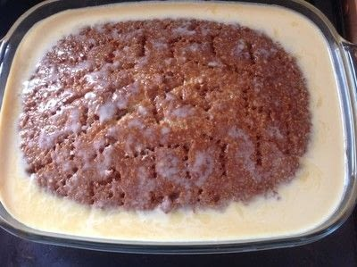 How to bake a sponge cake. Tres Leches Cake - Step 7