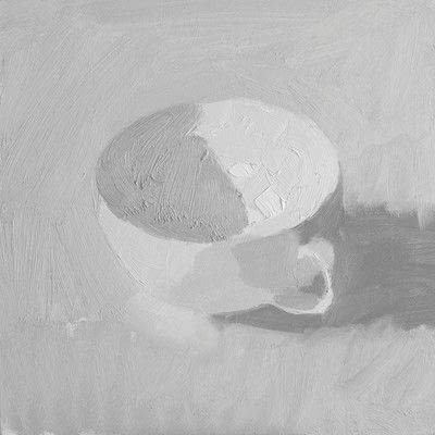 How to create a drawing or painting. Teacup Painting - Step 4