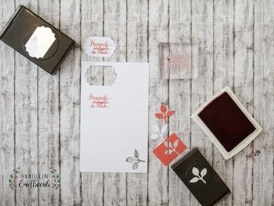 How to make a paper box. Box Using The Tag Topper Punch By Stampin' Up! - Step 5