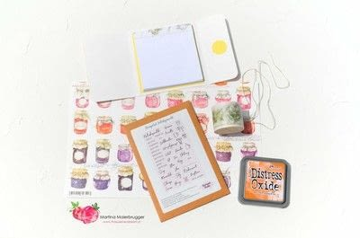 How to make a journal. Mini Recipe Booklet - Step 1
