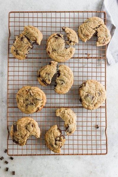How to bake a cookie. Chocolate Chunk Coffee Cookies - Step 11
