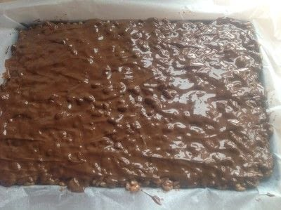 How to bake a bar / slice. Sticky Gooey Bars - Step 4