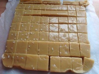 How to make fudge. Salted Caramel Fudge  - Step 6