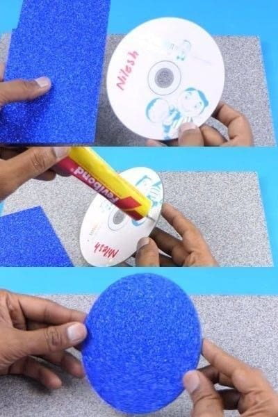 How to make a wall decal. How To Make A Beautiful Wall Hanging From Matchbox? - Step 4