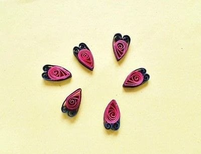 How to make a pendant necklace. Diy Paper Quilling Pendant - Step 4