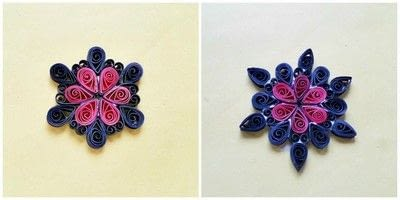 How to make a pendant necklace. Diy Paper Quilling Pendant - Step 6