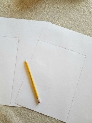 How to make a notebook journal. Diy Writer's Notebook - Step 2