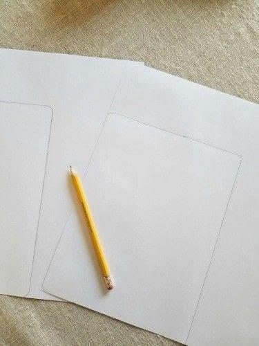 How to make a notebook journal. Diy Writer's Notebook - Step 2