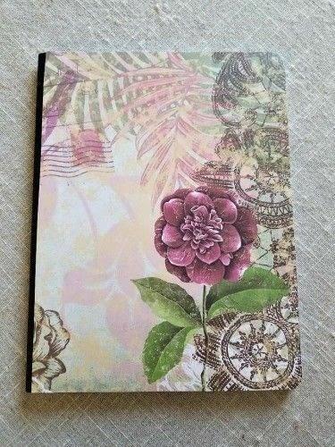 How to make a notebook journal. Diy Writer's Notebook - Step 3