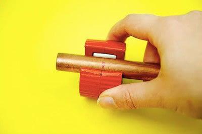 How to make a hook or rack. Diy Copper Pipe Hook - Step 2
