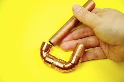 How to make a hook or rack. Diy Copper Pipe Hook - Step 6