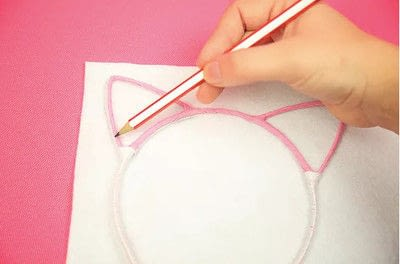 How to make a hairband / headband. Diy Unicorn Headband - Step 2
