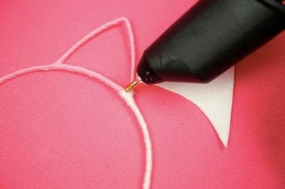 How to make a hairband / headband. Diy Unicorn Headband - Step 3