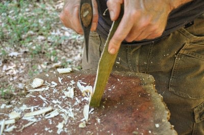 How to make a spoon. Carved Spoon - Step 5