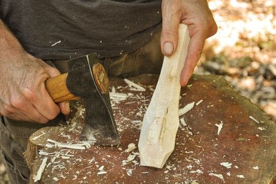 How to make a spoon. Carved Spoon - Step 12