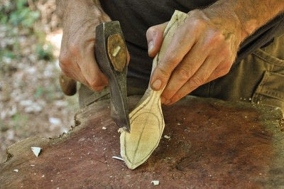 How to make a spoon. Carved Spoon - Step 15