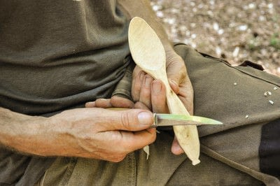 How to make a spoon. Carved Spoon - Step 20