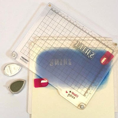 How to cut a piece of papercutting. Galaxy Card Shine Like A Star - Step 4