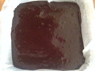 How to bake a bar / slice. Black Bottom Coconut Bars - Step 4