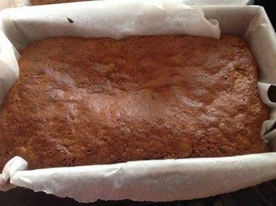How to bake a fruit cake. Sticky Malt Loaf - Step 6