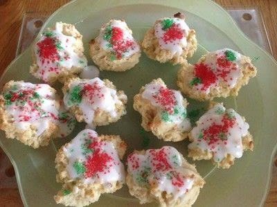 How to bake a cookie. Christmas Cream Cheese Cookies - Step 5