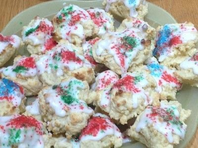 How to bake a cookie. Christmas Cream Cheese Cookies - Step 6