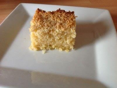 How to bake a bar / slice. Coconut Bars - Step 5
