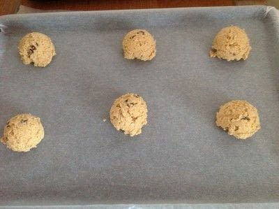 How to bake an oatmeal cookie. Peanut Butter Oat Cookies  - Step 5