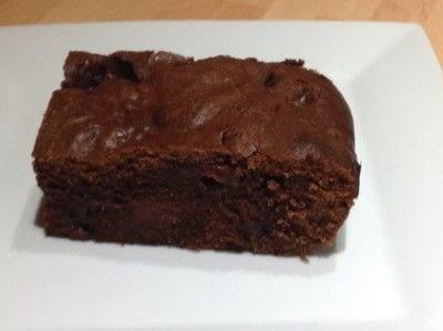 How to bake a bar / slice. Black Forest Bars - Step 6