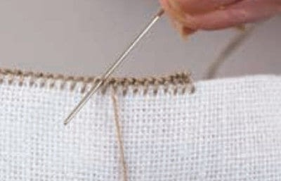 How to embroider . Hedebo Embroidery - Step 10