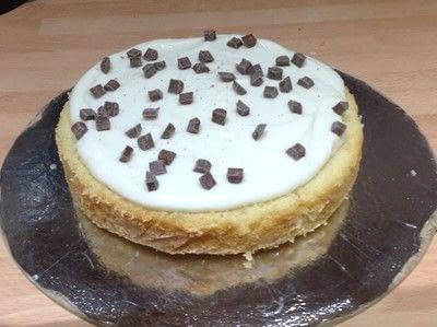 How to bake a cake. Cannoli Cake - Step 9