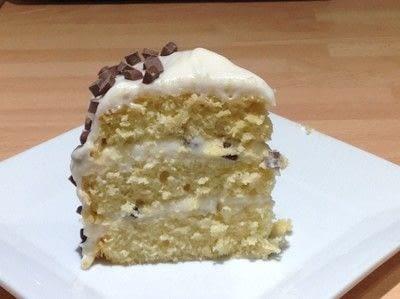 How to bake a cake. Cannoli Cake - Step 11