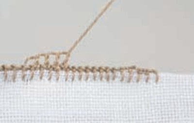 How to stitch . Pyramids - Step 3
