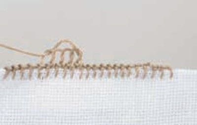 How to stitch . Pyramids - Step 5