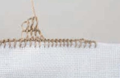 How to stitch . Pyramids - Step 8