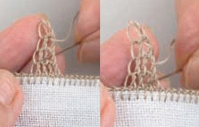 How to stitch . Pyramids - Step 13