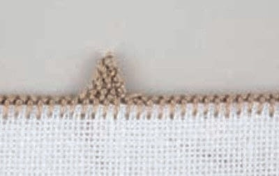 How to stitch . Pyramids - Step 15
