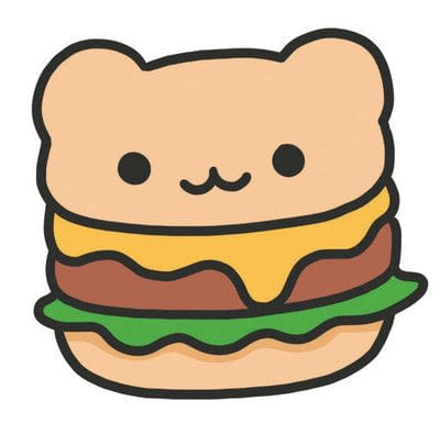 How to create a drawing or painting. How To Draw Really Cute Hamburgers - Step 4