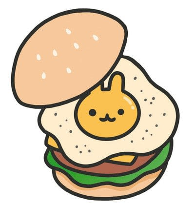 How to create a drawing or painting. How To Draw Really Cute Hamburgers - Step 9