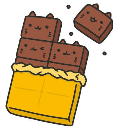 How to create a drawing or painting. How To Draw Really Cute Chocolate - Step 3