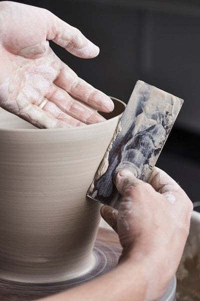 How to make a clay bowl. Clay Bowl - Step 9