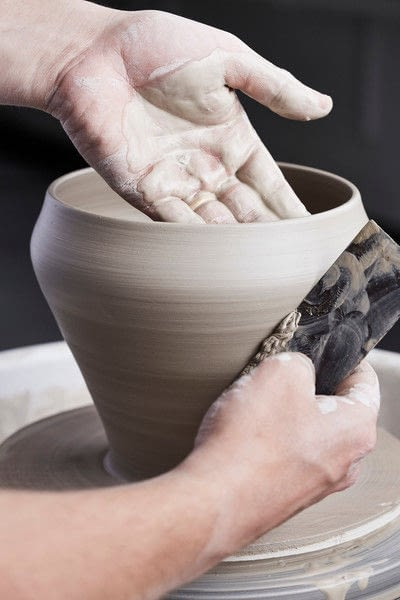 How to make a clay bowl. Clay Bowl - Step 10