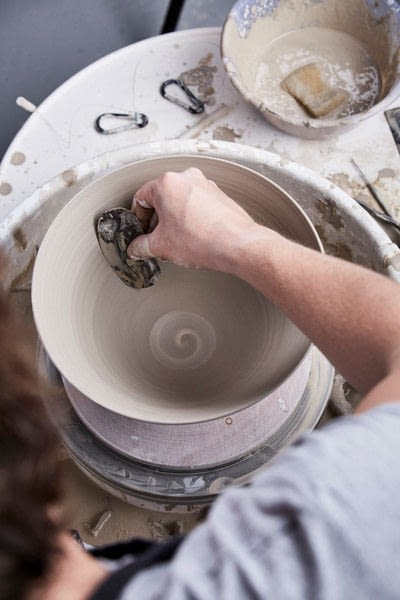 How to make a clay bowl. Clay Bowl - Step 12