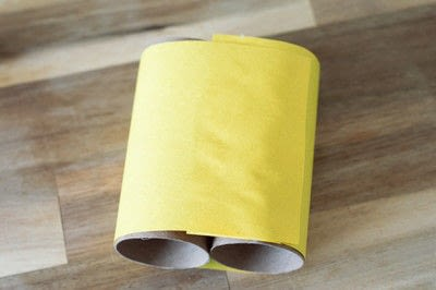 How to make a toy. Bee Noculars - Step 3